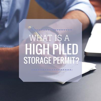 high pile permit