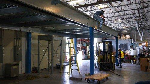 Fabricate Mezzanine - Pallet Racks, Pallet Rack - Los