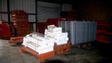White Rack Beams