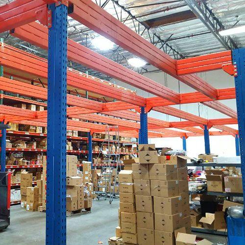 Pallet Rack Mezzanine : Mezzanine floor expand your warehouse space call