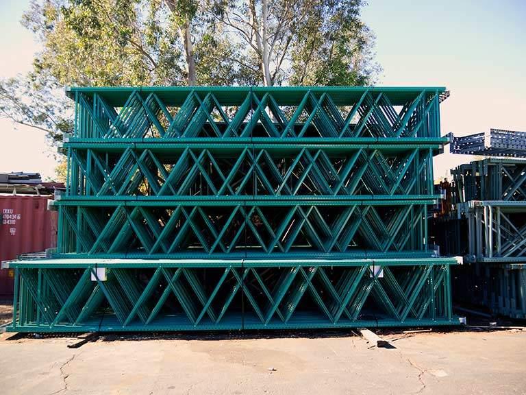 Warehouse Pallet Rack Uprights