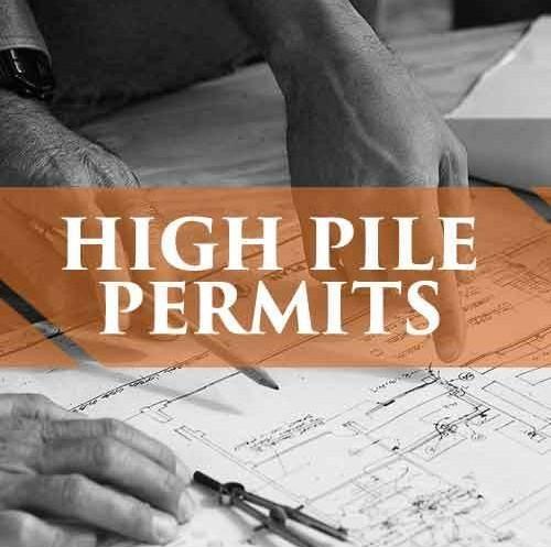 Need High Pile Storage Permits Pallet Racks Pallet