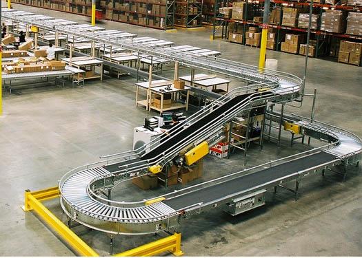 conveyor rack