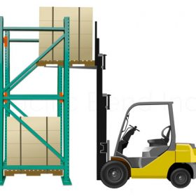 how to improve forklift access to inventory goods