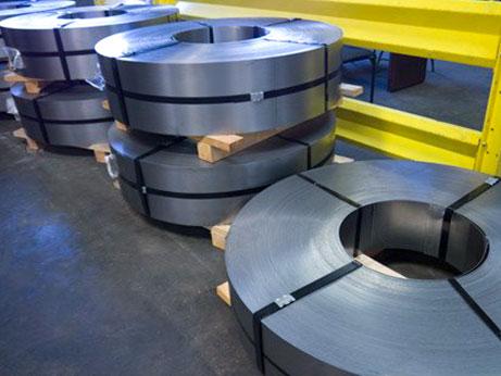 US steel rolls