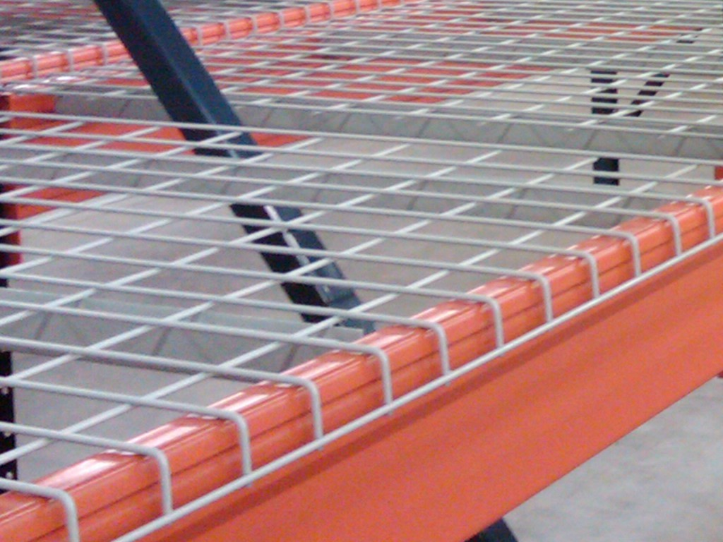 Wire Decking For Pallet Racks | Wire Deck Pallet Racks Pallet Rack Los Angeles Orange And
