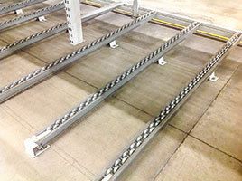 pallet flow racks